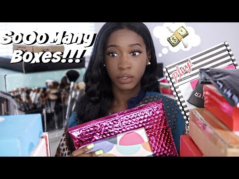 Subscription Box Overload!! 20 Subscription Services Reviewed (ipsy, Sephora, Birchbox & More)