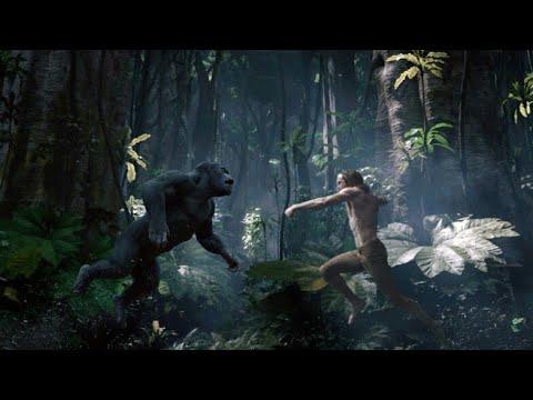 Tarzan vs Gorilla Fight Scene-The Legend Of Tarzan