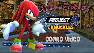 Guardian of the Emeralds – A Project M Knuckles Combo Video