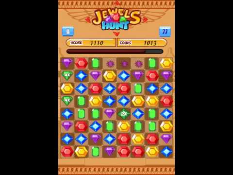 Video of Jewels Hunt Match 3- kids game
