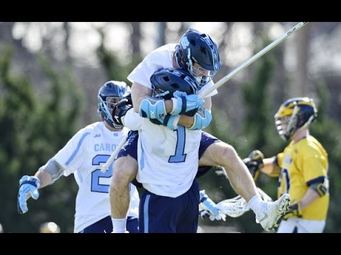 UNC Men's Lacrosse: Highlights vs. Michigan