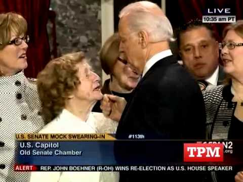 0 Video: Joe Bidens Greatest Swearing In Hits