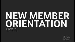 SLA Committee Day 2018: New Member Orientation