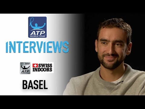 Cilic Previews Title Defence Basel 2017 (видео)
