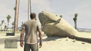 Nonton Grand Theft Auto V   Sand Shark  Easter Egg  Film Subtitle Indonesia Streaming Movie Download