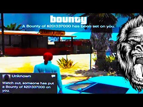 bounty - GTA 5 Modding - GTA 5 Online Modded Lobbies - Millions in GTA 5 Money Bounties - Modded Bounty GTA 5 ➟Previous GTA 5 Video: GTA 5 DLC - NEW Radio DLC for GTA V Online: https://www.youtube.com/wat...