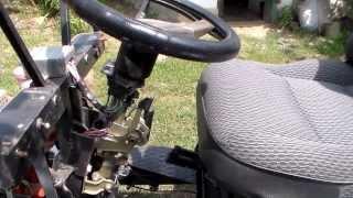 Мотоблок + адаптер - рулевое управление.