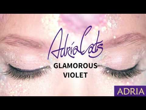 Adria Glamorous Violet - цветные линзы.