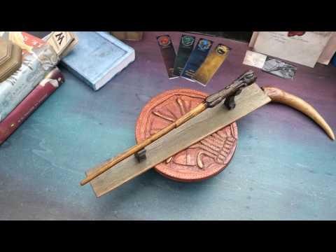 Bacchetta di Harry Potter in legno fatta a mano