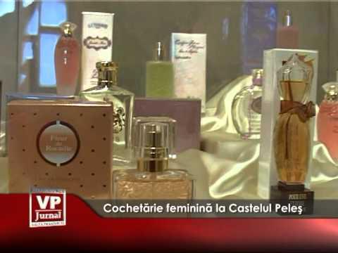 Cochetărie feminină la Castelul Peleş