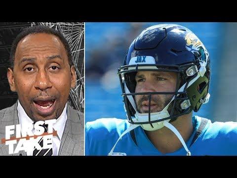 Stephen A.: Blake Bortles is 'garbage' to Jaguars' elite defense | First Take