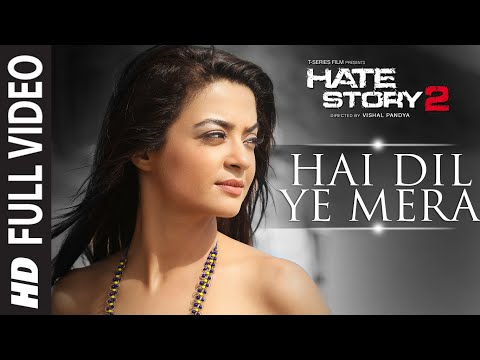 Video Hai Dil Ye Mera Full Video Song | Arijit Singh | Hate Story 2 | Jay Bhanushali, Surveen Chawla download in MP3, 3GP, MP4, WEBM, AVI, FLV January 2017