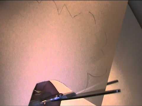 Osterhuhn Fensterdeko basteln - Video