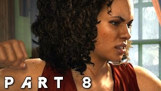Uncharted 4 A Thief's End Walkthrough Gameplay Part 8 - Crucifix (PS4)