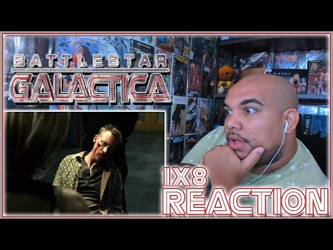 "Battlestar Galactica Reaction Season 1 Episode 8 ""Flesh and Bone"" 1x8 REACTION!!!"