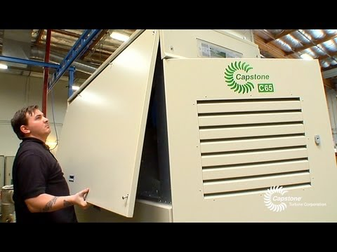 Capstone Turbine - Innovation in Clean and Green Energy