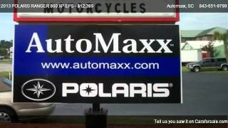 3. 2013 POLARIS RANGER 800 XP EPS POWER STEERING - for sale in Murrells Inlet, SC 29576