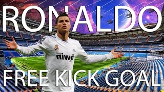 Cristiano Ronaldo free kick in Top Eleven - Be a Football Manager (2017)