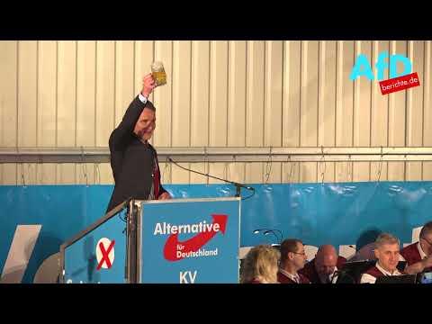 Björn Höcke: Politischer Aschermittwoch der AfD in Pi ...