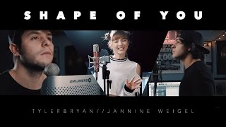 Nonton Ed Sheeran   Shape Of You  Tyler   Ryan Ft  Jannine Weigel  Film Subtitle Indonesia Streaming Movie Download