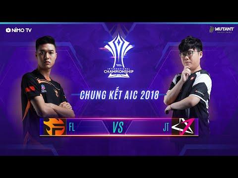 TEAM FLASH vs JTEAM - Chung Kết AIC 2018 - Garena Liên Quân Mobile - Thời lượng: 2:19:08.