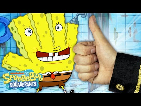 """The Sponge Treatment"" + Every Time 'Hans the Hand' Appears 🤚🏻 SpongeBob SquarePants"