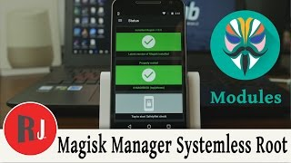 Magisk Manager New Systemless Root Method. check out the links below for more info on this awesome new open source root method http://www.rootjunky.com/magisk-systemless-root-manager/Check out PhonLab E-Campus, if you want to learn tons more about Phone repairs tips and tricks to help you repair smartphones. Use coupon code rootjunky9 at check out to get a nice discount.http://phonlab.teachable.com/?affcode=57417_o7w7j7zdHow to Identify the Code Name and model of your Android devicehttps://youtu.be/nCU45rgbDKwLink to RootJunky.com where you can find all my work in on easy to navigate place. tutorials, tips, tricks, root, restore, roms, Custom recovery and so much more.My Favorite Tech and what i used to make my youtube videoshttp://astore.amazon.com/root0f94-205 Things you need to know before rooting or hacking your android device https://youtu.be/n8LMyRqBViMHow to install Android Device drivers  http://youtu.be/j_KPGUMzrjUWhy Root Android devices video http://youtu.be/6vqnnLnOn3g Universal UnRoot App for all Devices http://youtu.be/ySNStU8OTuk My New Downloads Page is here http://rootjunkysdl.com/PLEASE READ Warning… do this at your own risk. I am not responsible for what you do to your device. I am happy to help with any problems my subscribers are having on their android devices. I am going to need lots of info from you to be able to help.  Because of the large amount of messages I get every day I will not answer any questions that do not include this info in the message thanks for understanding.  1.  What device you have.  2.  What android version you are running.  3.  What rom stock or custom rom / build number in about phone.  4.  What you have done to the device.  5.  Recovery stock, TWRP. CWM . With this info I will be able to help. FOLLOW ME http://RootJunky.comhttps://www.facebook.com/rootjunkyhttps://twitter.com/rootjunkyhttps://www.youtube.com/tomsgt123https://www.google.com/+Tomsgt123
