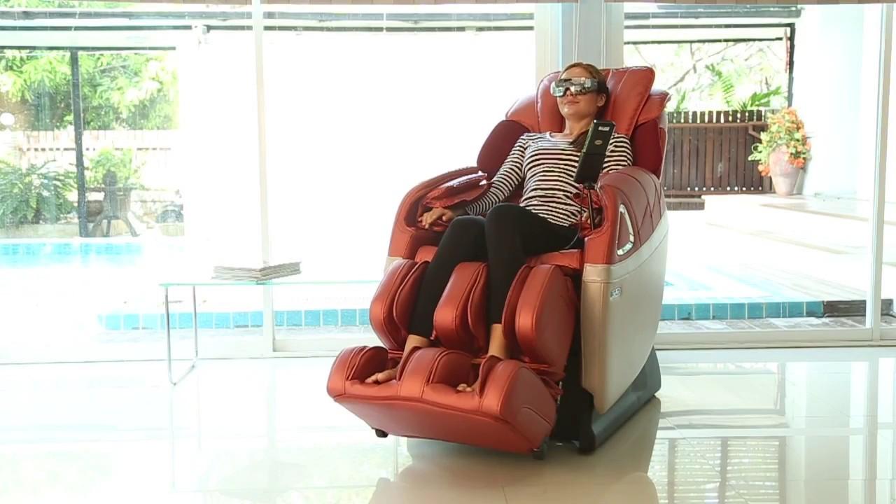 เก้าอี้นวดไฟฟ้า BEPRO - Rester