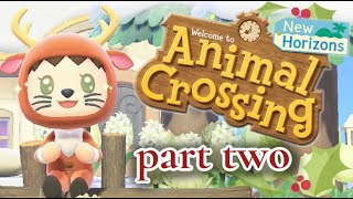Animal Crossing : Island Tour & Meeting Villagers ~ Part 2