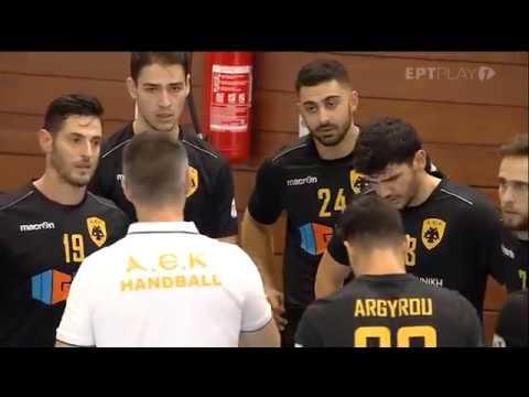 30Σεπ2018 – Handball Premier : ΑΕΚ – ΑΣΕΧΥ ΠΥΛΑΙΑΣ 29-26