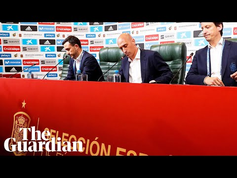 Spain 'forced' to sack Julen Lopetegui on eve of World Cup 2018