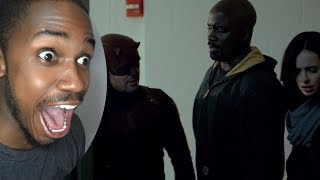 "My reaction to: Marvel's The Defenders  Official Trailer 2 [HD]  Netflix original link: https://www.youtube.com/watch?v=D_6J9BqgonU&t=1sMy 1st film. A dark thriller shot in 4K: https://youtu.be/q_JYDkCQQZ0Teaser trailer to my upcoming magician documentary ""1584"":https://youtu.be/Y-4AbBRw0MAMy Favorite 2016 Films: https://youtu.be/_NBGerjuuaMMy Worst 2016 Films: https://youtu.be/3lRuZzl5aBoMy Instagram: https://instagram.com/jorrellmcdaniel/My Facebook: https://www.facebook.com/jorrell.mcdanielMy Twitter: https://twitter.com/buddhistwisdom7"