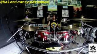 Jamrud - Selamat Ulang Tahun Drum Cover by 11 yo Kalonica Nicx