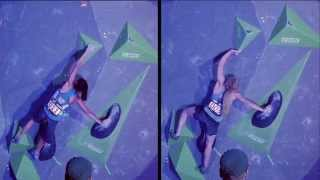 Shauna Coxsey & Megan Mascarenas - Climbing Styles Compared by Psyched Bouldering