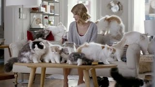 Taylor Swift's Diet Coke Ad Features Brand-New '1989' Song and Kittens!