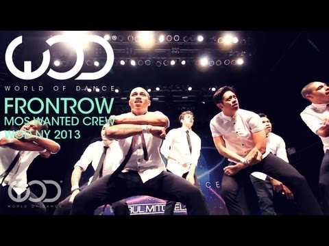 crew - World of Dance Frontrow Feature : Mos Wanted Crew at WODNY 2013 #WODFRONTROW Support the movement. Subscribe here. https://www.youtube.com/worldofdance Follo...