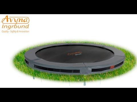 AVYNA PRO-LINE 12 Inground Combi-Pack Ø 3m65 | Montage trampoline