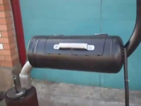 Коптильня с газового баллона своими руками видео
