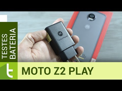Autonomia do Moto Z2 Play  Teste oficial de bateria do TudoCelular