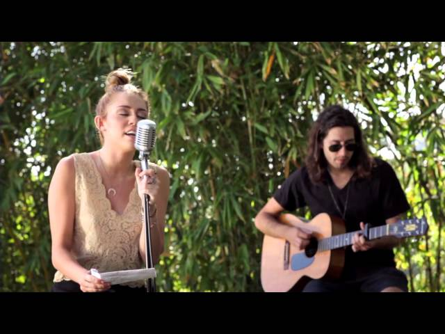 miley cyrus the backyard sessions lilac wine