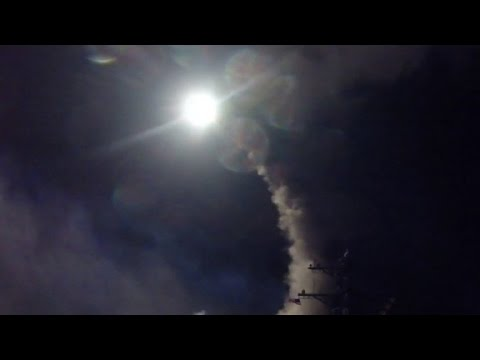 Video US warships launch cruise missiles at Syria download in MP3, 3GP, MP4, WEBM, AVI, FLV January 2017