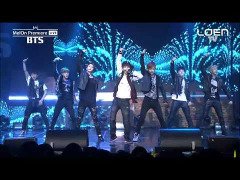 BTS 방탄소년단 - Jump+상남자 (Boy In Luv) [MelOn Premier Live_140211] (Talk Cut Ver.)【1080p HD/HQ】