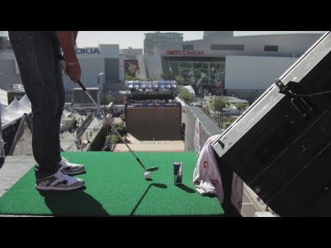 Golfing on the MegaRamp – Red Bull Off Course 2012