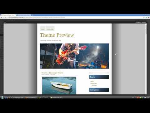 Word Press Theme/Design ändern und anpassen