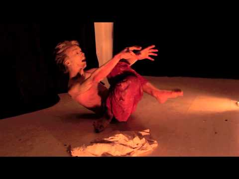 ' What happened to the map in the river?'_Santeri/ 1st International Butoh Festival Delhi