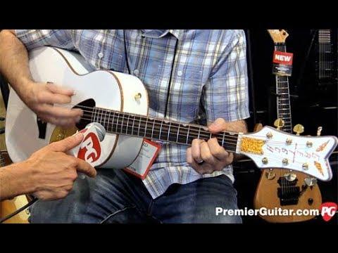 SNAMM '17 – Gretsch G5021WPE Rancher Penguin Parlor Acoustic Demo