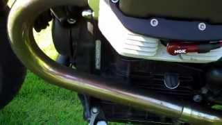 10. Moto Guzzi V11 Cafe Sport Ohlins - Start Up and Walk Around