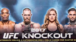 Nonton Box Busters: 2017 Topps UFC Knockout Film Subtitle Indonesia Streaming Movie Download
