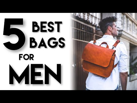 5 BEST BAGS FOR MEN | Mens Bags You NEED | Parker York Smith