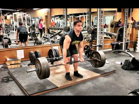 516 Paused Deadlift – Down to 181